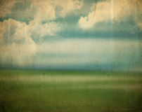 Vintage landscape background Royalty Free Stock Image