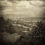 Vintage Landscape of LA Royalty Free Stock Images