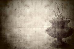 Vintage landscape old pot on the beach Stock Photos