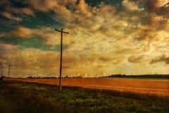Vintage Landscape Royalty Free Stock Image