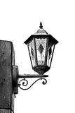 Vintage lantern in black and white Royalty Free Stock Photography