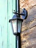 Vintage lantern house. Streets light Royalty Free Stock Photography