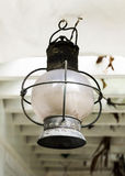 Vintage lantern lamp Royalty Free Stock Images