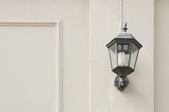Vintage lantern on a wall. Stock Photography