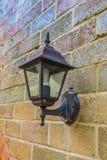 Vintage lantern on a wall Stock Photos