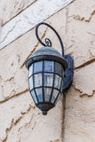 Vintage lantern on a wall Royalty Free Stock Photo