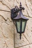 Vintage lantern on a wall Royalty Free Stock Photos