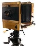 Vintage large format photo camera Stock Image