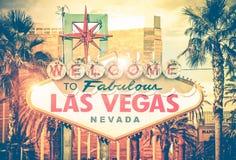 Vintage Las Vegas Photo Stock Images