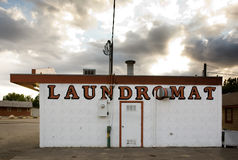 Vintage Laundromat Stock Images