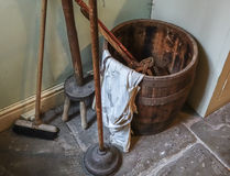 Vintage Laundry Room Stock Images