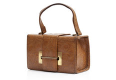 Vintage leather bag Royalty Free Stock Image