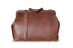 Vintage leather bag Royalty Free Stock Photography