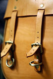 Vintage leather bag Royalty Free Stock Images