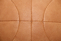 Vintage Leather basketball ball background Stock Photo