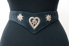 Vintage leather belt Royalty Free Stock Image