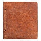 Vintage leather book cover Royalty Free Stock Photos