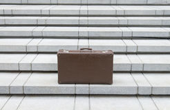 vintage leather luggage Royalty Free Stock Photography