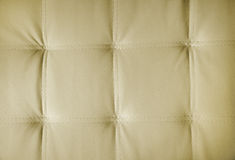 Sepia picture of genuine leather upholstery Royalty Free Stock Photography