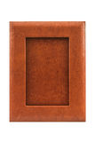 Vintage leather picture frame . Royalty Free Stock Photo