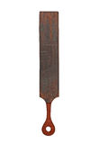 Vintage leather strop Stock Photo