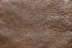 Vintage leather texture. Brown vintage leather texture as background royalty free stock photos