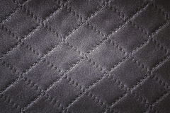 Vintage leather texture with diamond pattern Stock Photo