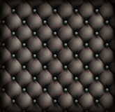 Vintage leather upholstery background Stock Photography