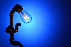 Vintage led light bulb Royalty Free Stock Photo