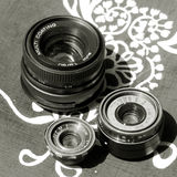 Vintage  lens Royalty Free Stock Photos