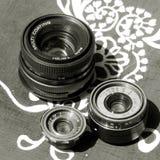 Vintage  lens Royalty Free Stock Photos