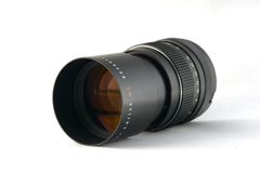 Vintage lens camera Royalty Free Stock Photo