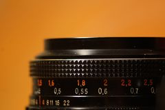 Vintage lens royalty free stock photo