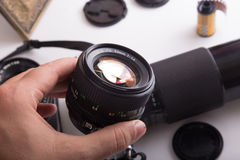 Vintage Lens Stock Photography