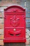 Vintage letter-box Stock Image