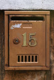 Vintage letter box Royalty Free Stock Images