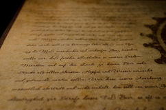 Vintage letter. One of the amazing vintage letters Royalty Free Stock Photos