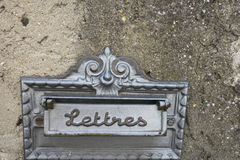 Vintage letterbox Royalty Free Stock Photo