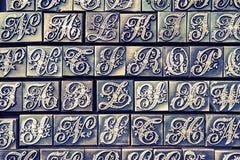 Vintage letterpress Royalty Free Stock Image