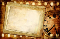 Vintage lettters. Vintage background with old papers Stock Images