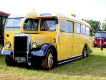 Vintage Leyland single decker bus. Vintage Leyland bus at the Moorgreen country show, Watnall, Nottinghamshire, England, UK, 2012 Stock Photo