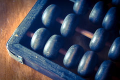 Vintage light abacus. Stock Photography