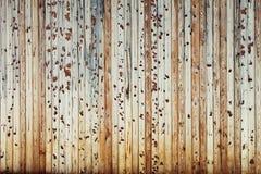 Vintage light beige  wooden background. Old boards. Wooden background. Stock Photo