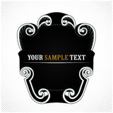 Vintage light blank. In Royalty Free Stock Image