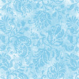 Vintage Light Blue Floral Tapestry Royalty Free Stock Image