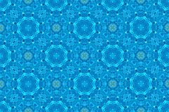 Vintage light blue pattern for background royalty free stock images