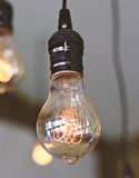 vintage light bulb Royalty Free Stock Photography