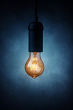 Vintage light bulb Stock Image