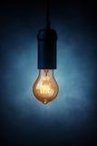 Vintage light bulb Stock Image