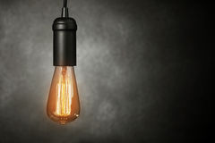 Vintage light bulb Stock Photos